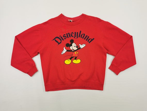 Mickey Mouse Sweatshirt Vintage Mickey Mouse Pullo