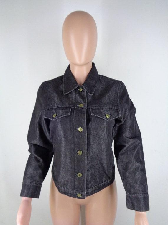 Krizia Denim Jacket Vintage 90's Krizia Jeans Jac… - image 3