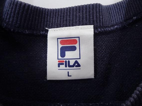 Fila Shirt Vintage Fila T Shirt Vintage Fila Logo… - image 3