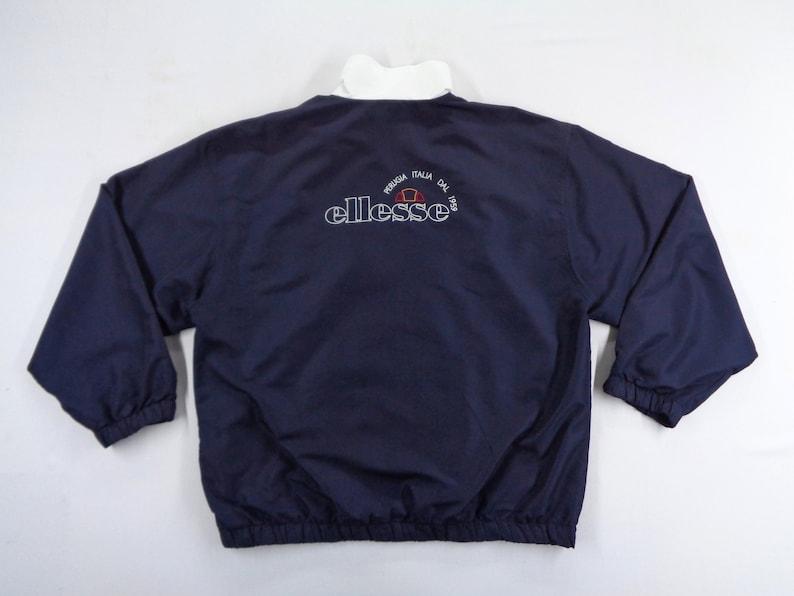Ellesse Jacket Vintage Ellesse Windbreaker Vintage Ellesse Big Logo Windbreaker Jacket Size L