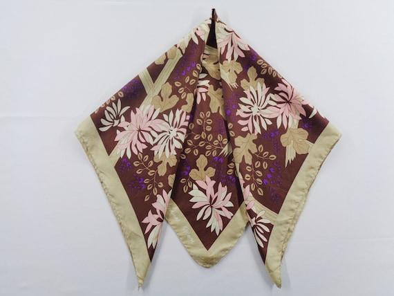 Hanae Mori Scarf Vintage Hanae Mori Silk Scarf Aut