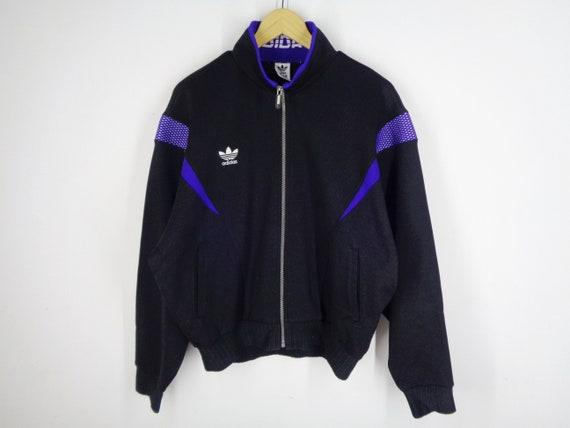 80s Adidas Multicolor Track Jacket Vintage Adidas Trefoil | Etsy