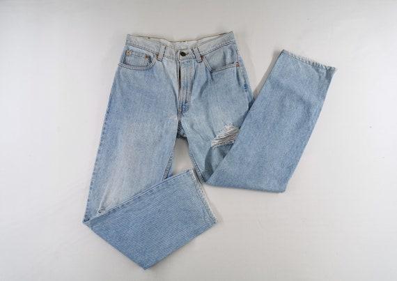 Levis 510-0217 Jeans Distressed Vintage Size 32 L… - image 2