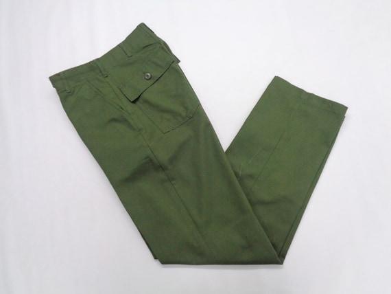 Military Pants Vintage Size 28 Army Pants Vintage