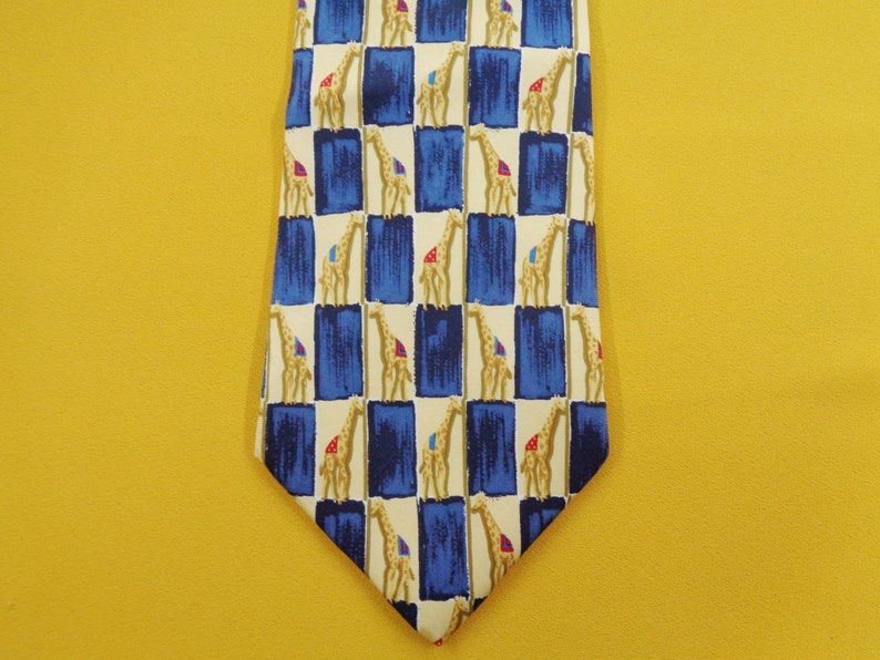 Paul Fredrick Tie Vintage Paul Fredrick Silk Necktie Vintage Paul Fredrick Made In USA Pattern Silk Necktie