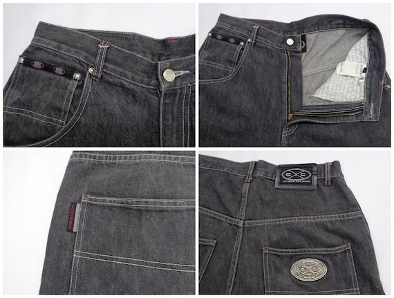 Cross Colours Jeans Pants Vintage Size 32 Cross C… - image 4