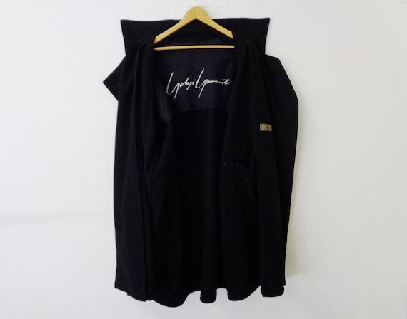 Yohji Yamamoto Jacket Vintage Yohji Yamamoto Wool