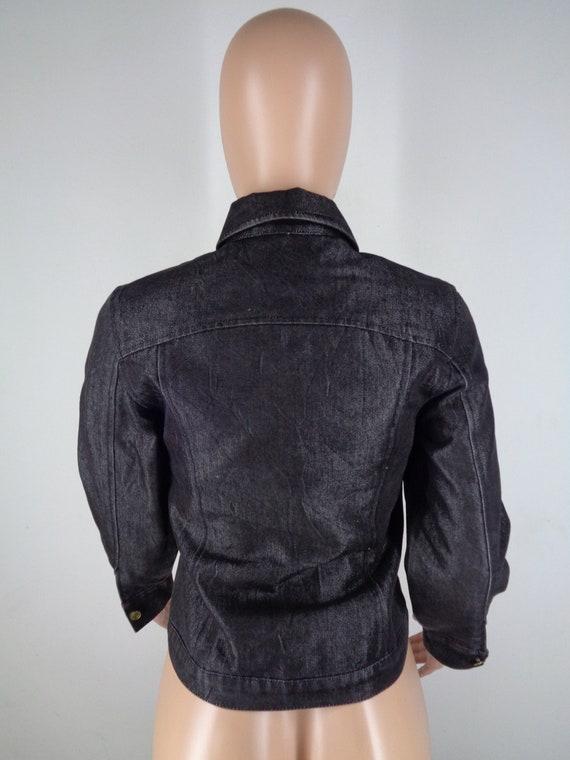 Krizia Denim Jacket Vintage 90's Krizia Jeans Jac… - image 4