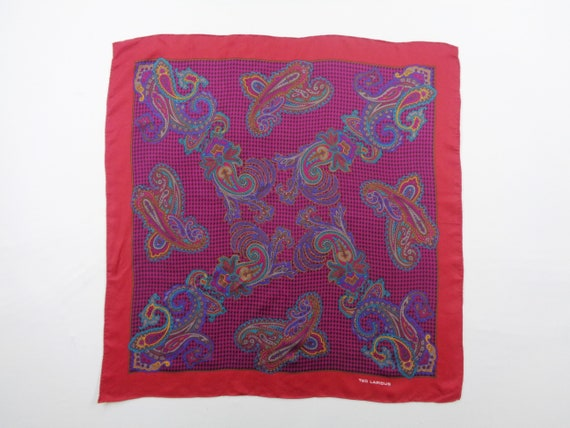 Ted Lapidus Scarf Vintage Ted Lapidus Silk Scarf A