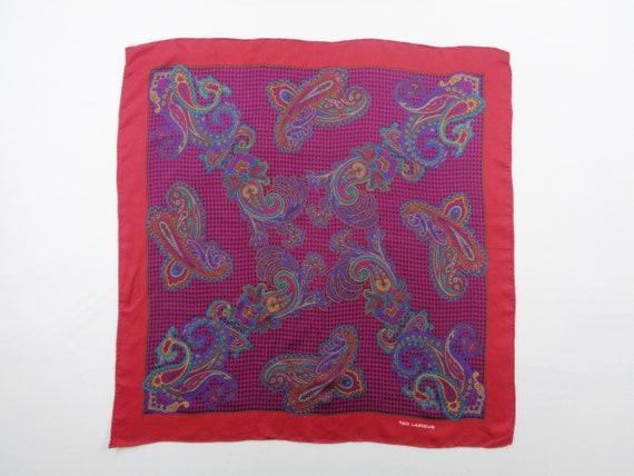 Ted Lapidus Scarf Vintage Ted Lapidus Silk Scarf … - image 1