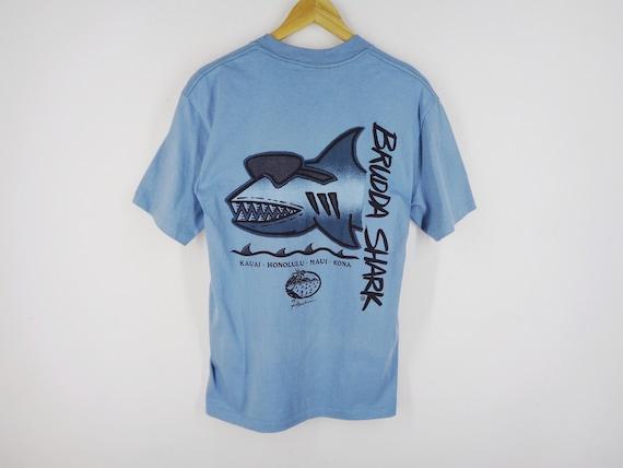 Brudda Shark Shirt Vintage Brudda Shark T Shirt Br