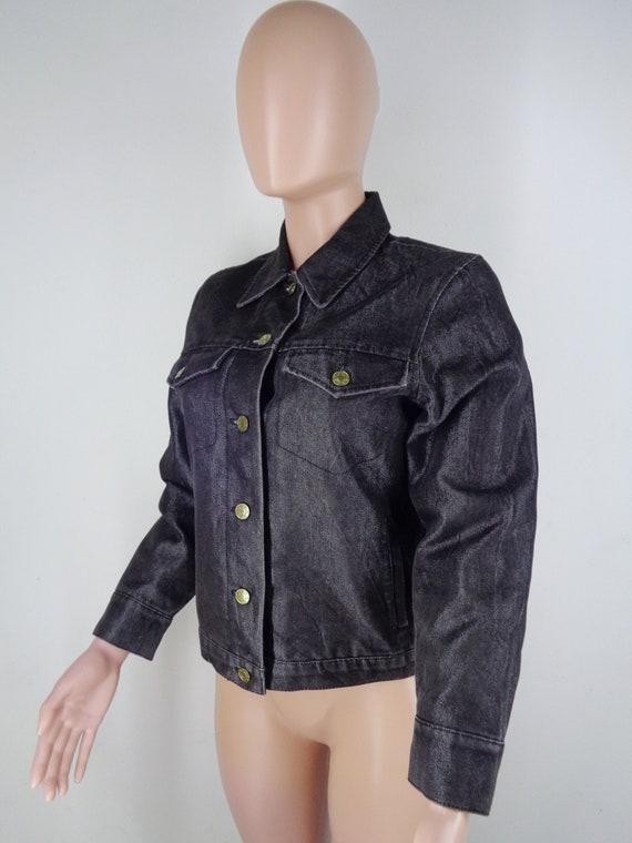 Krizia Denim Jacket Vintage 90's Krizia Jeans Jac… - image 2