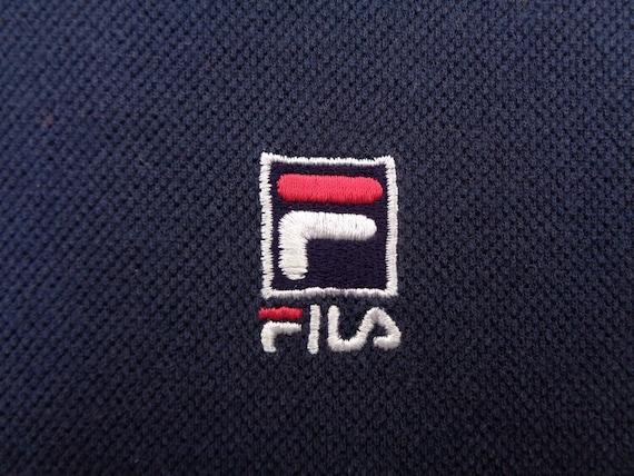 Fila Shirt Vintage Fila T Shirt Vintage Fila Logo… - image 4