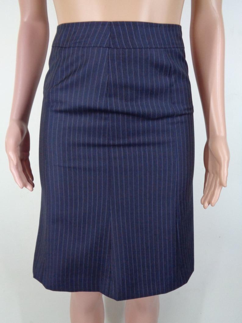 Reda Skirt Vintage Size 40 Reda Striped Skirt Vintage Reda Vintage Midi Skirt Size 2829x22