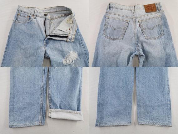 Levis 510-0217 Jeans Distressed Vintage Size 32 L… - image 6