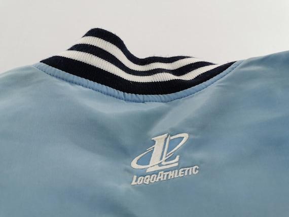 New York Baseball Jacket Distressed Vintage New Y… - image 6