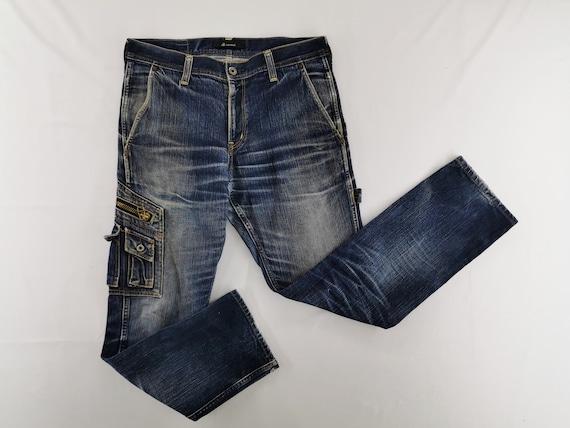 Johnbull Jeans Distressed Size L John Bull Cargo D