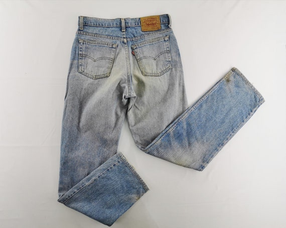 Levis 510-0217 Jeans Distressed Vintage Size 32 Le
