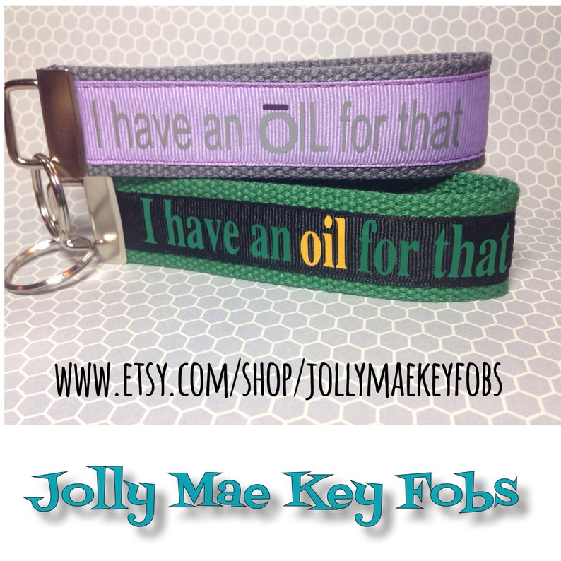 Essential oils key fob