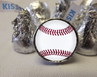 Baseball Hershey Kiss Stickers, Baseball Stickers , Baseball Hershey Kiss Labels, Baseball Candy Stickers