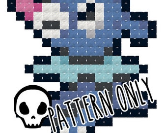 Pokemon Popplio Cross Stitch Pattern
