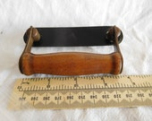 Vintage bentwood case wood grip hinged handle fittings x old Singer 99K Simanco 87724 124307 sewing machine fits others mid 20th century