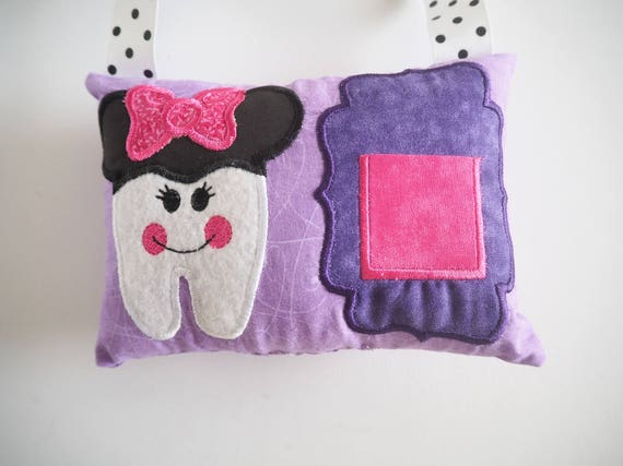 Keepsakes Personalised Owl Tooth Fairy Pillow Embroidered Lost Tooth Novelty Gift