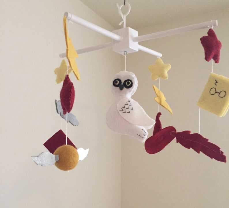 Owl baby mobile baby mobile Harry Potter inspired mobile ...