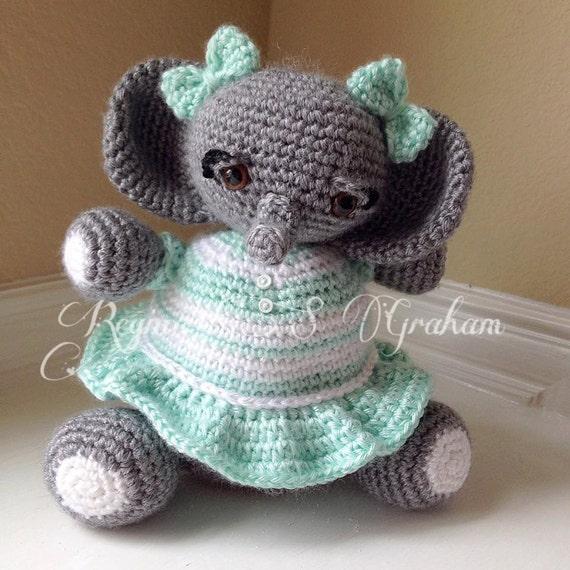 Ravelry: Meimei Baby Elephant pattern by Dedri Uys | 570x570