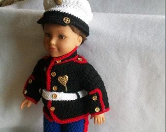 2d4950843 Crochet Boy Doll Clothes Pattern - Boy Doll - 18