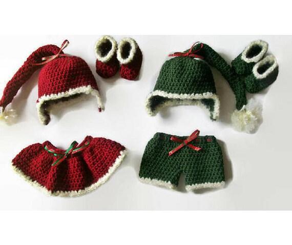 Newborn Baby Pattern Baby Crochet Pattern Baby Elf Outfits Etsy