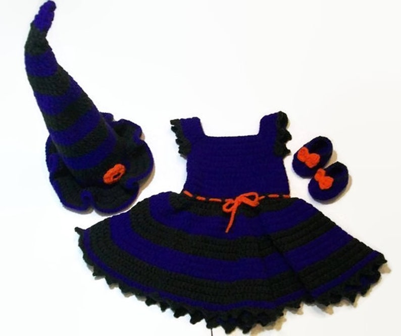 Baby Halloween Costume Baby Witch Costume Baby Costume image 0