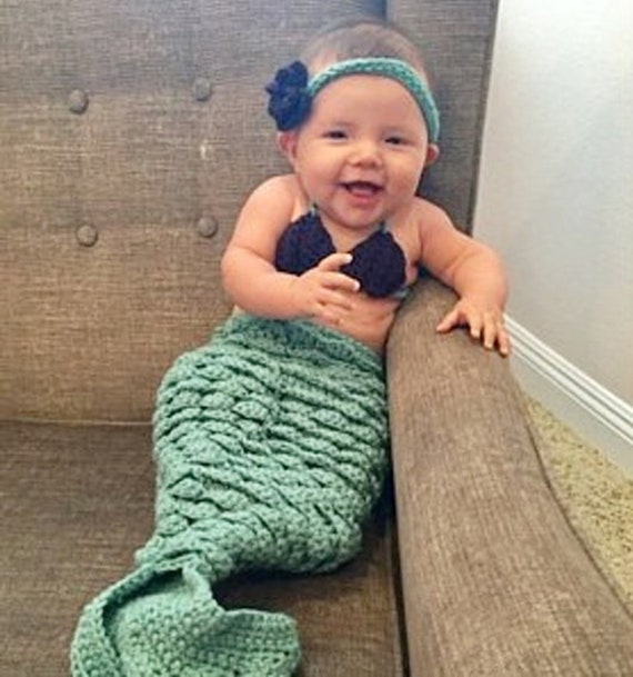 e3df0c06ec9cb BABY MERMAID PROP Set White Mermaid Costume Newborn Mermaid