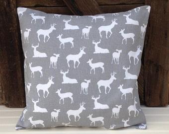 deer pillow cover