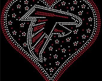 b708732e Falcons rhinestone | Etsy