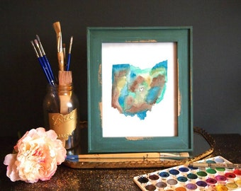 HOME is where the HEART is (Blue) PRINT (8.5 x 11)