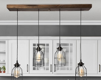 Kitchen Island Light Etsy