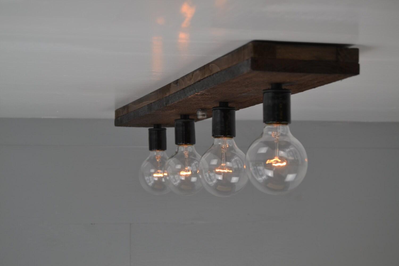 Deckenleuchte Licht Holz Holz Eitelkeit Licht Unterputz