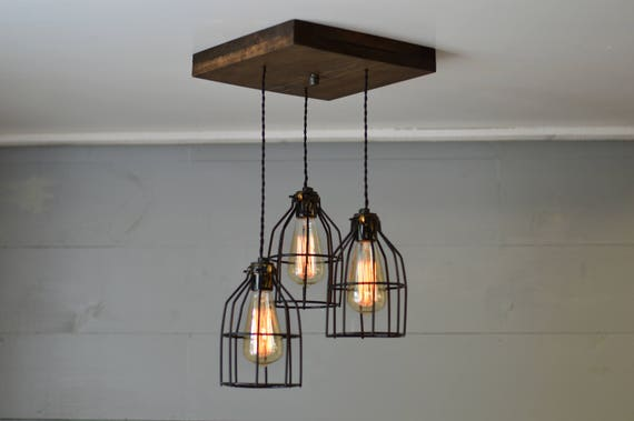 Decorative Star Ceiling Light Semi Flush Bathroom Fixture: Farmhouse Light Reclaimed Wood Chandelier Light Fixture