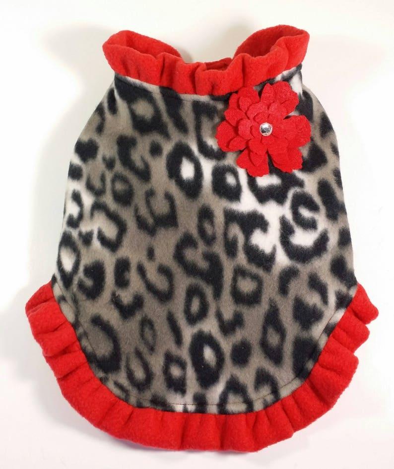 Dog Clothes Patterns Dog Coat Pet Clothes patterns Fleece Coat -SMALL /& MEDIUM- Dog Jacket Sewing Pattern PDF