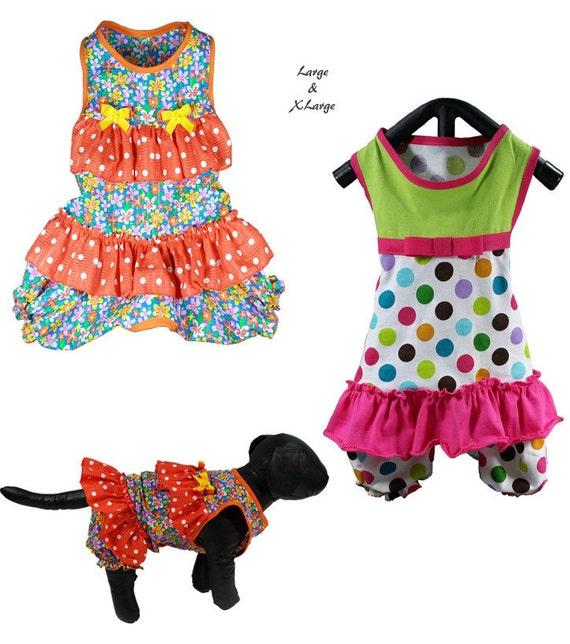 Ruffles Dog Romper Pattern LARGE-XLARGE Onesie Dog Sewing   Etsy