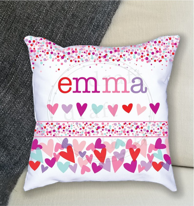 Love Pillow Hearts Heart Pillow Valentines Gift Pocket Reading Pillow Story Books Heart Design Valentines Day Book Pillow