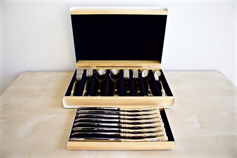 Cutlery Box, Silverware Case, Custom Flatware Case, Boîte à vaisselle, Boîte à vaisselle faite à la main, Boîte de coutellerie personnalisée pour Argenterie