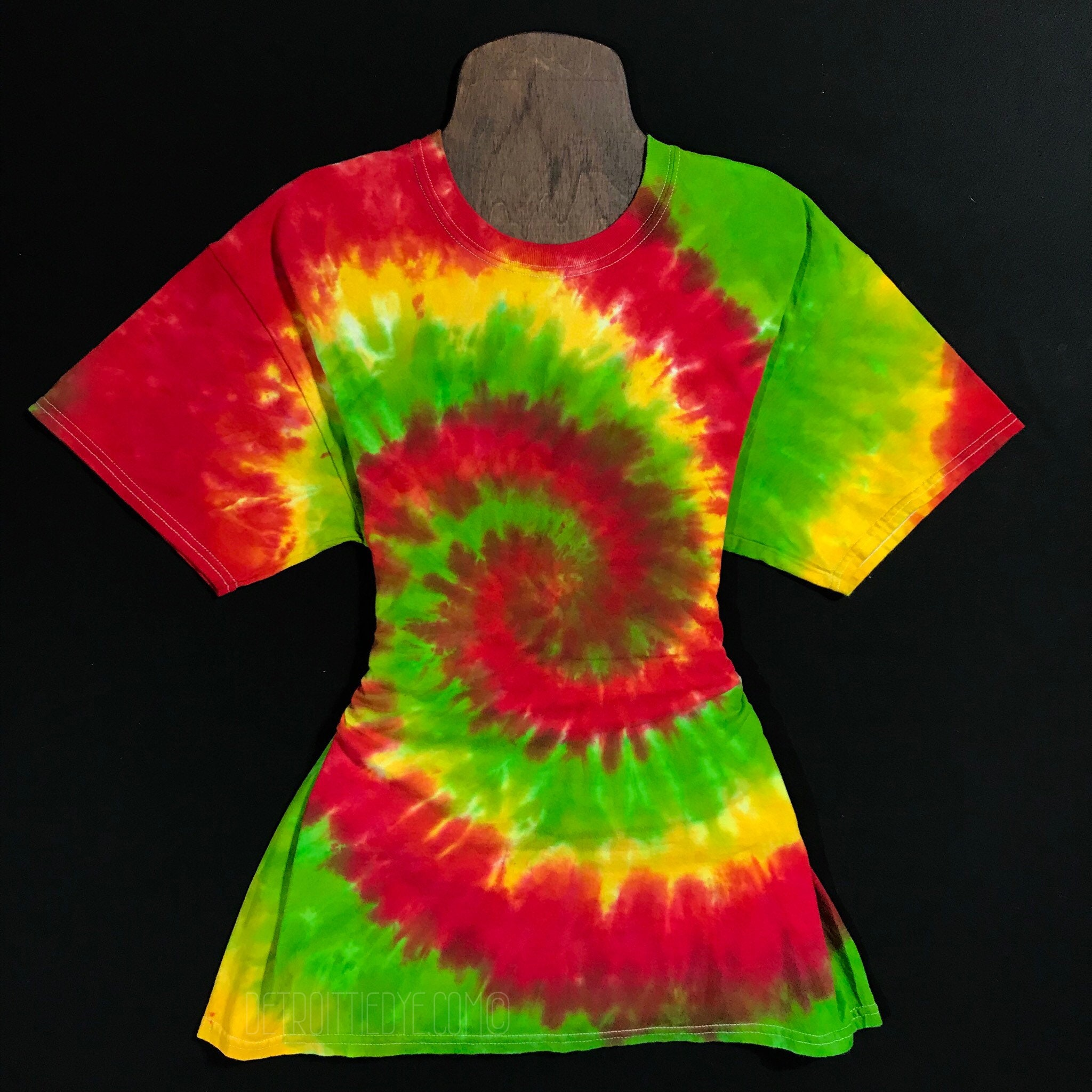 Custom Made Rasta Tie Dye Shirt Tie Dye T Shirt Made To Etsy