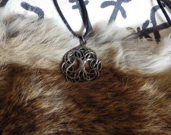 Yggdrasil - The Tree of Life Pendant    Asatru Jewelry