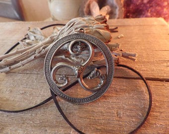 Celtic Spiral Pendant-   Celtic Jewelry