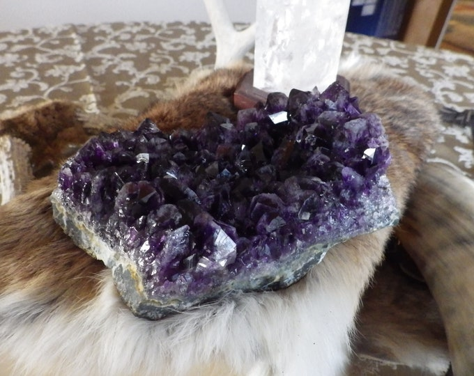 Featured listing image: Large Amethyst Cluster -  Amethyst Geode