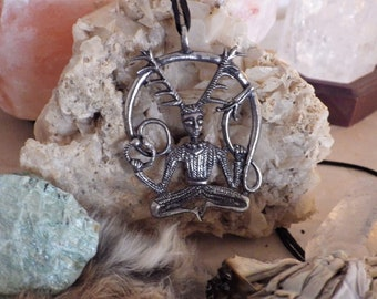 Cernunnos - Horned God Pendant l - Celtic Jewelry
