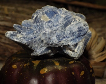 Blue Kyanite - raw crystals and stones