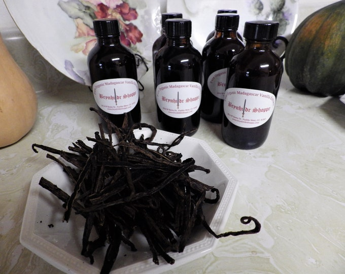 Featured listing image: Natural Pure Organic Madagascar Vanilla Extract 4 oz